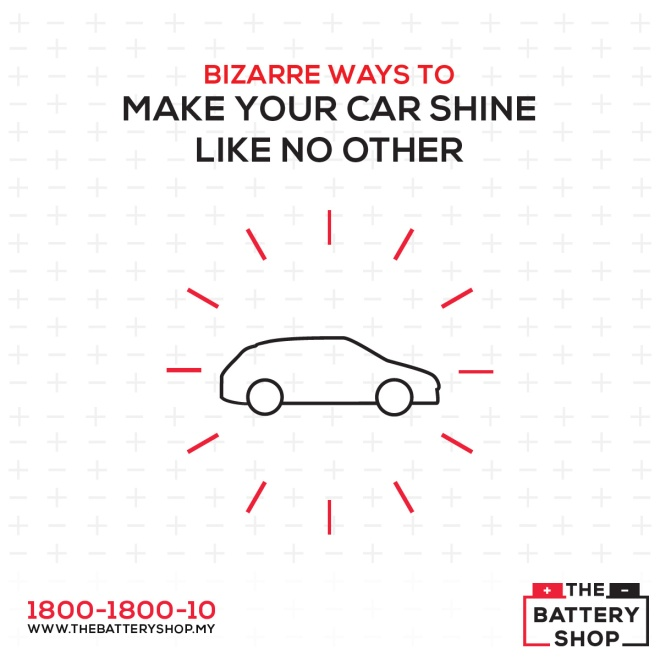 bizarre ways to take care of your car